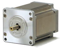 Stepping motor for vacuum environments